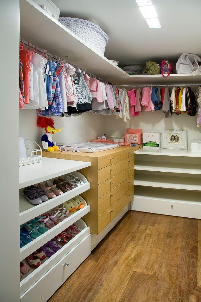 closet - quarto infantil menina